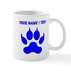 742fb72f62c Wolf Paw Print Mugs - CafePress