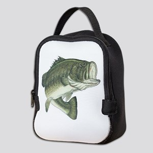 large mouth bass Neoprene Lunch Bag
