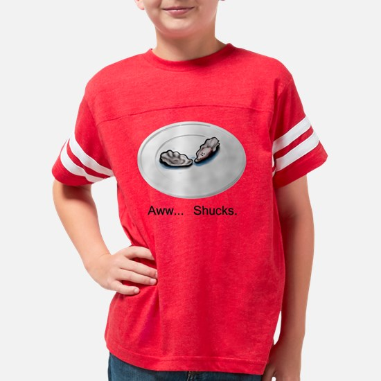 oysterplate Youth Football Shirt