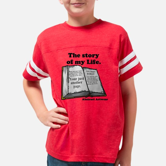 Story Of my Life Youth Football Shirt