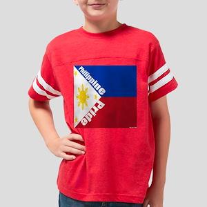 philippinepridepillow Youth Football Shirt
