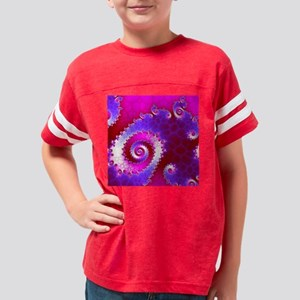 Fractal4(15.35x15.35) Youth Football Shirt
