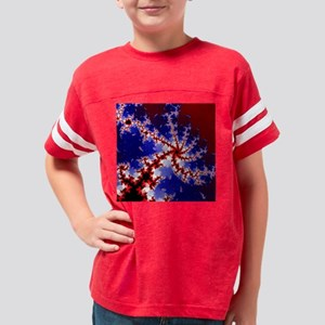 Fractal5(15.35x15.35) Youth Football Shirt