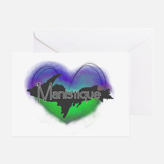 Aurora Manistique Greeting Card