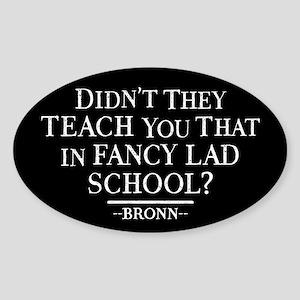 GOT Fancy Lad School Sticker