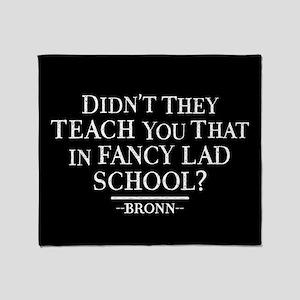 GOT Fancy Lad School Throw Blanket