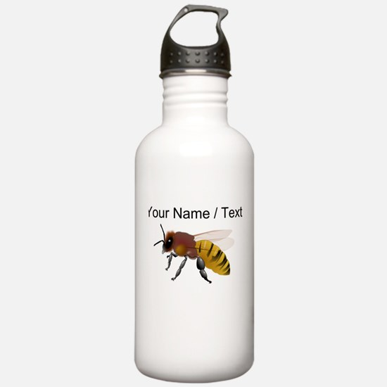 Custom Bee Sports Water Bottle