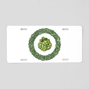 Celtic Dragon 2 Aluminum License Plate