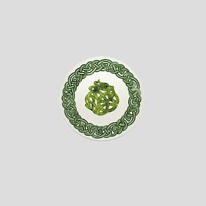 Celtic Dragon 2 Mini Button
