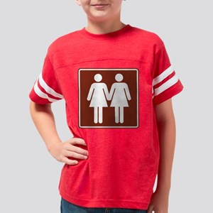 3-RA100-RR_Women_Women-Brown Youth Football Shirt