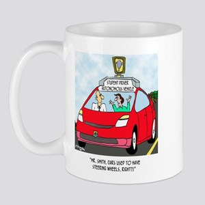 Cars Used to Have a Steering Wheel? Mug