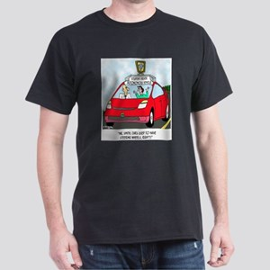 Cars Used to Have a Steering Wheel? Dark T-Shirt