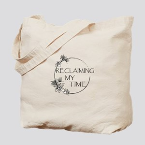 Reclaiming My Time Floral Tote Bag
