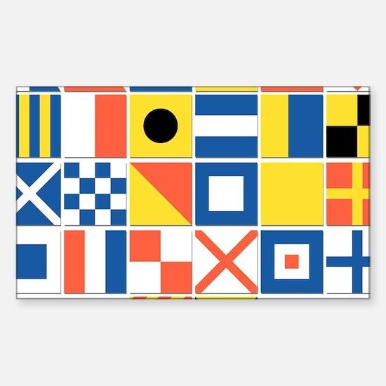 Nautical Flag Decal