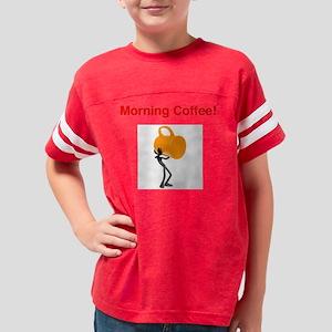 MorningCoffee Youth Football Shirt