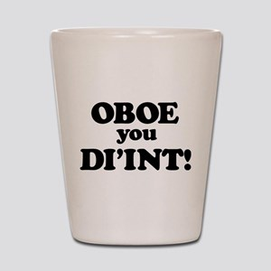 OBOE Shot Glass