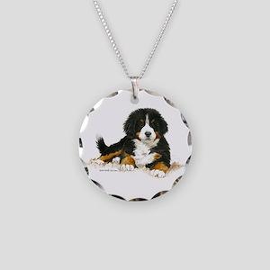 Bernese Mountain Dog Bright Eyes Necklace