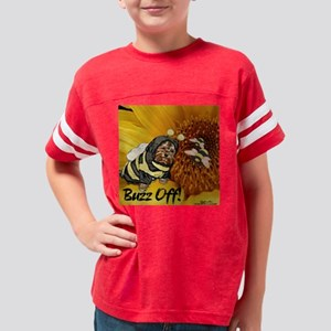 Buzz Off Youth Football Shirt
