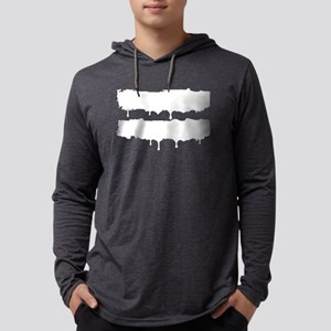 paint drips Mens Hooded Shirt