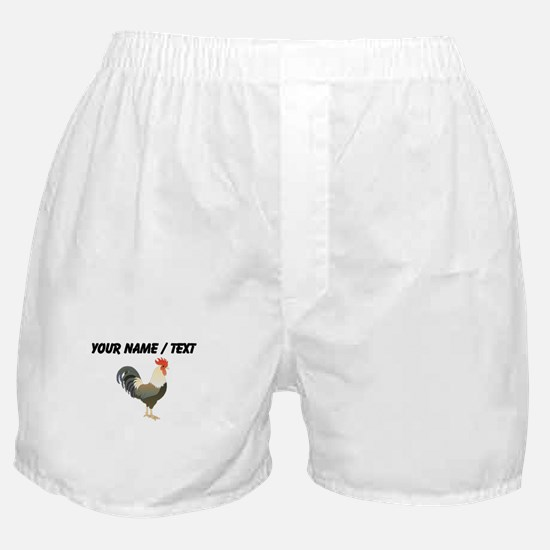 Custom Rooster Boxer Shorts