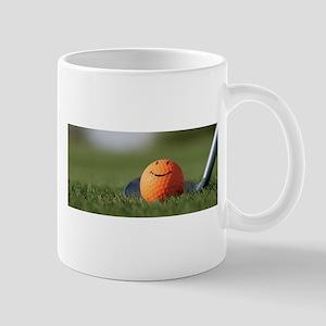 golf smiley Mugs