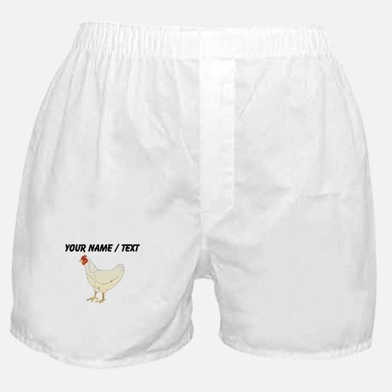 Custom Chicken Boxer Shorts