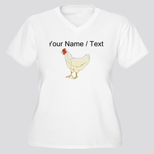 Custom Chicken Plus Size T-Shirt