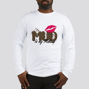 Mud is My Makeup_white Long Sleeve T-Shirt