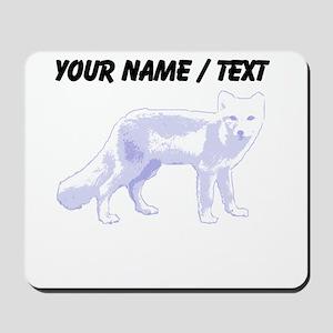Custom Arctic Fox Mousepad