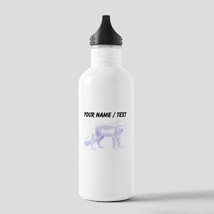 Custom Arctic Fox Sports Water Bottle