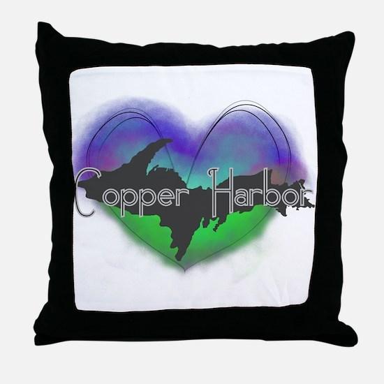 Aurora Copper Harbor Throw Pillow