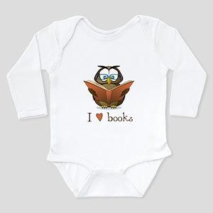 Book owl 3 Body Suit