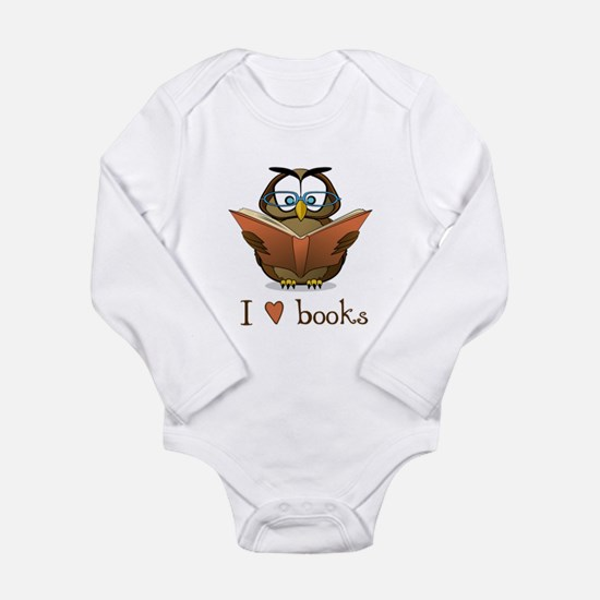 Book owl 3 Body Suit