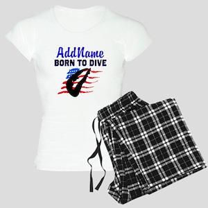 AWESOME DIVER Women's Light Pajamas