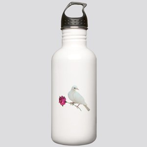 Dove Rose Stainless Water Bottle 1.0L