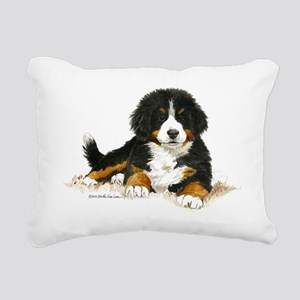 Bernese Mountain Dog Bright Eyes Rectangular Canva