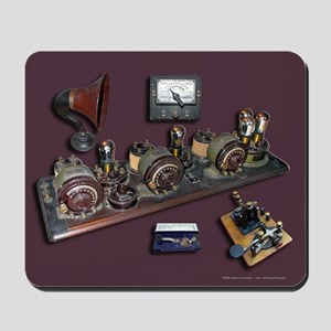 Mousepad of Radios & Keys