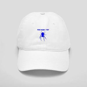 Custom Blue Spider Cap