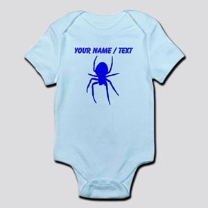Custom Blue Spider Body Suit