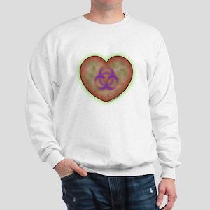 Biohazard Heart Sweatshirt