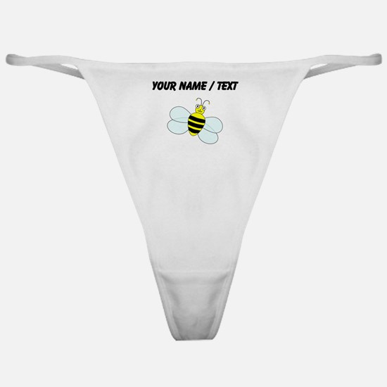 Custom Cartoon Bee Classic Thong
