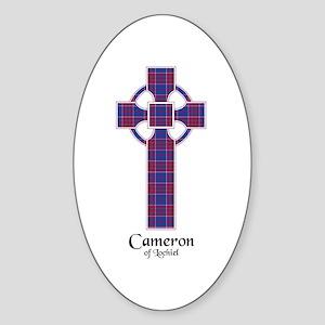 Cross-Cameron of Lochiel Sticker (Oval)