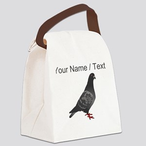 Custom Pigeon Canvas Lunch Bag