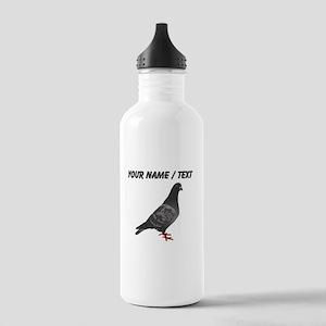 Custom Pigeon Sports Water Bottle