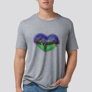 Aurora Porcupine Mts Mens Tri-blend T-Shirt
