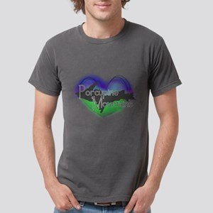 Aurora Porcupine Mts Mens Comfort Colors Shirt