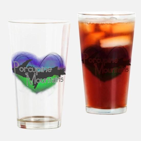 Aurora Porcupine Mts Drinking Glass