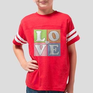 love2transparent Youth Football Shirt