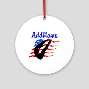 AMERICAN DIVER Ornament (Round)