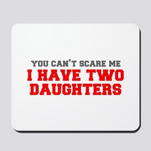 two-daughters-fresh-gray-red-3000 Mousepad
